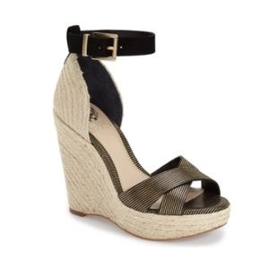 Vince Camuto Maurita Espadrille Wedge NWOB